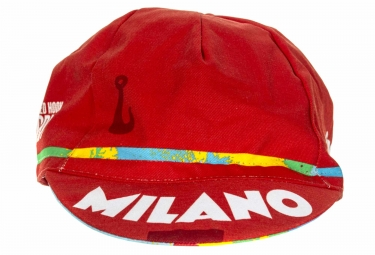 Casquette CINELLI RHC MILANO Rouge