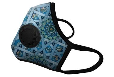 Masque Anti-pollution VOGMASK N99CV CHAKRA Bleu