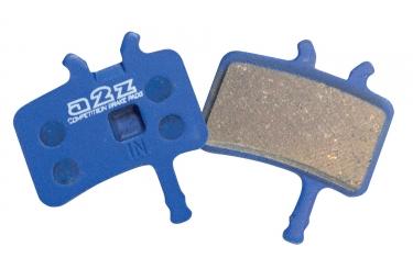 A2Z - XTOP Paire de plaquettes AVID Juicy Organique NOIR