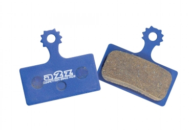 A2Z - XTOP Paire de plaquettes Organique SHIMANO XTR M985 XT M785 et SLX M446