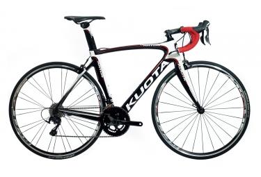 Vélo de Route KUOTA 2017 KRYON Shimano 105 5800 11v Noir Blanc Rouge