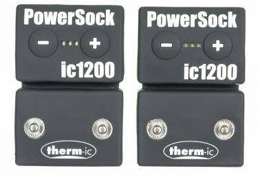Paire de Chaussettes Chauffantes THERM-IC POWER SOCKS IC1200 Noir Orange