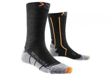 Paire de Chaussettes X-SOCKS DOUBLE INVENT MID Noir