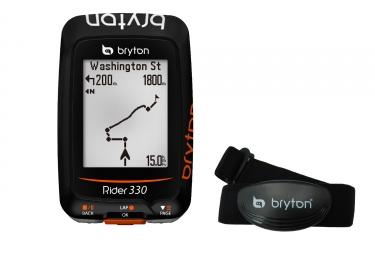 Compteur GPS BRYTON Rider 330H + Capteur Cardiaque