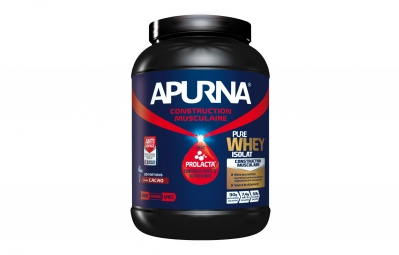 APURNA Pot de Proteines PURE WHEY ISOLAT Fruits Rouges Pot 750g