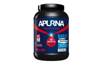 APURNA Pot de Proteines MASS GAINER Fruits Rouges Pot 1100g