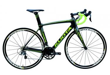 Vélo de Route KUOTA KOUGAR Shimano Ultegra 6800 11v Noir vert