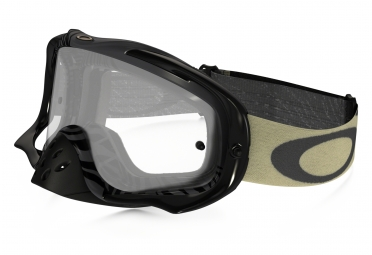 Masque OAKLEY Crowbar MX Animalistic Noir/Blanc Transparant 59-403