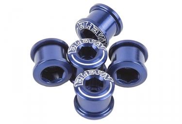 Pack de 5 Vis Cheminées ELEVN DOUBLE KEY 6.5 x 4mm Bleu