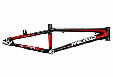 Cadre BMX Race MEYBO HOLESHOT Noir Blanc Rouge