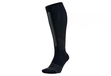 Chaussettes de Training NIKE ELITE HIGH-INTENSITY OVER-THE-CALF Noir