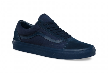 Paire de chaussures VANS OLD SKOOL Mono Bleu