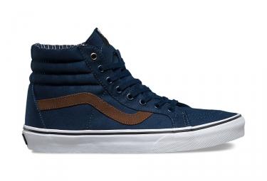 Chaussures VANS SK8-HI REISSUE Bleu Marron