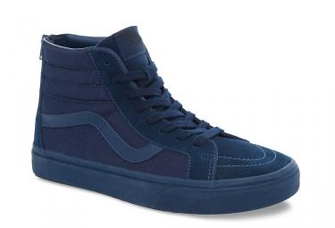 Chaussures VANS SK8-HI REISSUE ZIP Bleu