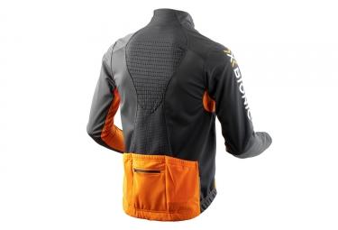Veste Coupe-vent X-BIONIC SPHEREWIND BT 2.1 Noir Orange