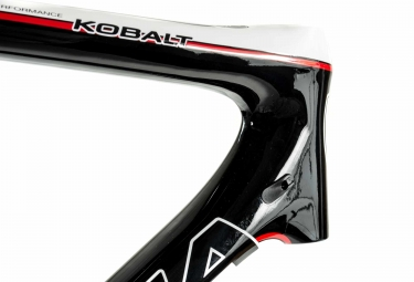 Kit Cadre-Fourche KUOTA Kobalt 2017 Blanc Noir Rouge