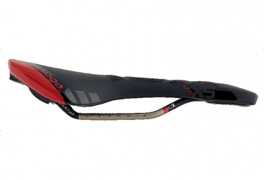 Selle Prologo NAGO EVO X15 Rails Tirox 135 2015 Noir / Rouge