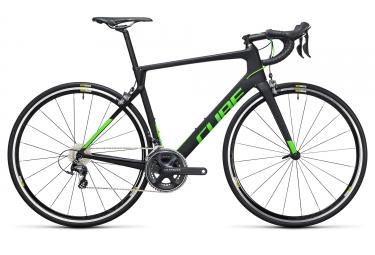 Vélo Route CUBE 2017 Agree C62 Pro Carbone Shimano Ultegra 11V Carbone/Vert