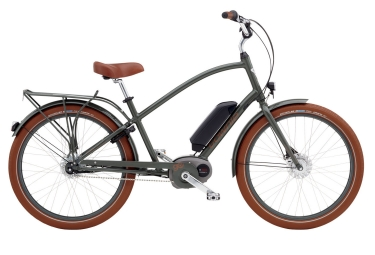 Velo complet Femme ELECTRA TOWNIE GO! 8I Army Gris