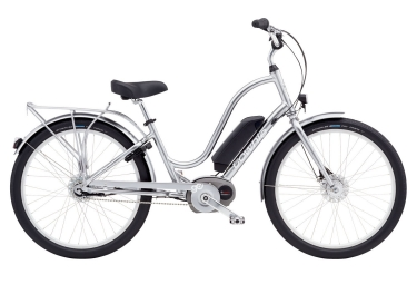 Velo complet Femme ELECTRA TOWNIE GO! 8I Argent