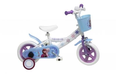Vélo Enfant Denver  Reine des Neiges 10'' Blanc