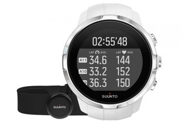 SUUNTO Montre GPS SPARTAN SPORT HR Blanc + Ceinture Smart Sensor