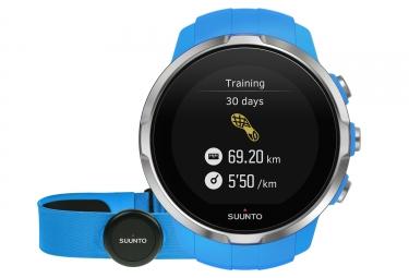 SUUNTO Montre GPS SPARTAN SPORT HR Bleu + Ceinture Smart Sensor