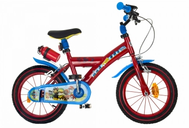 Vélo Enfant Denver Pat Patrouille 14´´ Rouge