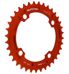 E-Thirteen Plateau Mono DH 104mm 8-9-10 V Rouge