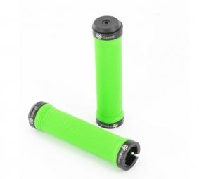 GUSSET Paire de Grips Vert Lock On Noir