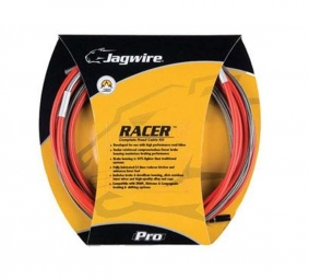 Jagwire Kit complet RACER Route dérailleurs + freins Rouge