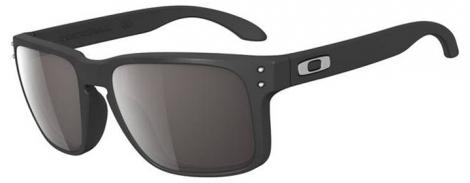 OAKLEY Lunettes Holbrook Matte black / Warm Grey Ref 9102-01