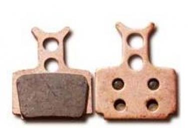 EBC GOLD Paire de Plaquettes FORMULA C1/R1/RX/ONE Métallique Synthérisé