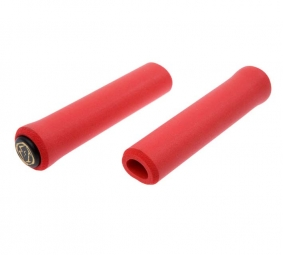 ESI Paire de Grips CHUNKY Silicone Rouge 32mm