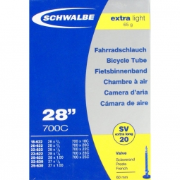 SCHWALBE Chambre 700 x 20 X-LIGHT Presta 60 mm