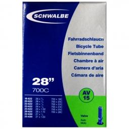 SCHWALBE Chambre à Air AV15 700x18-28 Schrader 28'' (18/28-622/630)