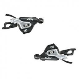 Shimano Paire Shifters M980 I-spec B XTR 10 vitesses AV AR FIXATION LEVIER double/tr
