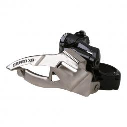 SRAM Dérailleur avant X0 2x10V Collier Bas 31.8/34.9mm Tirage Bas