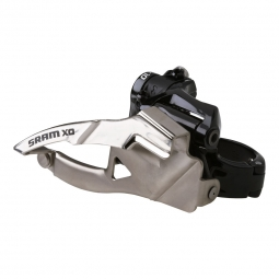 SRAM Dérailleur Avant X0 3X10V Collier Bas 31.8/34.9mm Tirage Bas