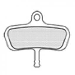 ASHIMA Paire de Plaquettes AVID Code Semi Métalliques