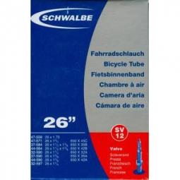 Schwalbe Chambre à air SV12 26x1.75 presta