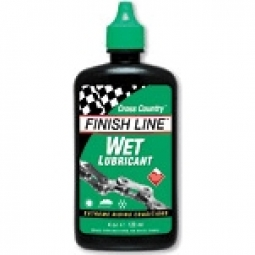 FINISH LINE Lubrifiant pour condition humide 120ml