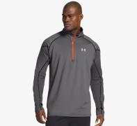 under armour ua cgi chrome 1-2 zip-grp black - black - reflective... Oferta en Alltricks