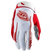 trou lee designs paire de gants longs air blanc-rouge Oferta en Alltricks
