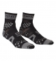 COMPRESSPORT paire de chaussettes RACING SOCKS V2 Trail Noir Gris