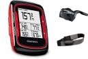 Garmin GPS Edge 500 Carbon Rouge HRM + CAD Cardio / Cadence