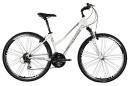 DIAMOND VTC Vélo Complet Confort Cross SPORT Femme Blanc/Rose