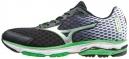 MIZUNO Shoes WAVE RIDER 18 Black Green Men