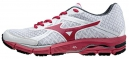 MIZUNO Chaussures WAVE ULTIMA 6 Blanc Rouge Femme