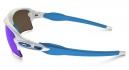 OAKLEY Lunettes FLAK 2.0 XL White/Sapphire Iridium Réf OO9188-02